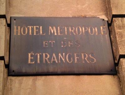 Plaquette Metropole